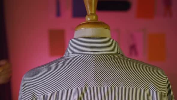 Tailor Measuring Business Shirt 17