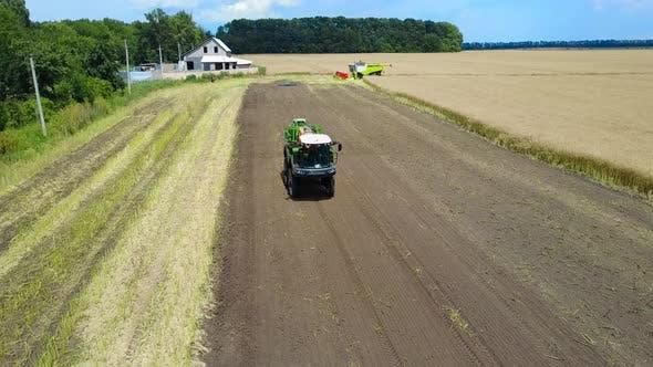 Selbstfahrende Landwirtschaftsspritze