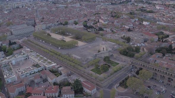 Thumbnail for Aerial view of Promenade du Peyrou