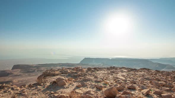 Thumbnail for Daytime time-lapse at Masada, Israel