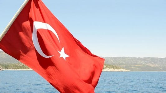 Thumbnail for Turkish Flag On A Yacht 2
