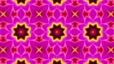 Multi Color Kaleidoscope Loop 4K 13