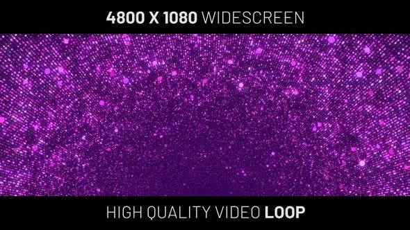 Thumbnail for Purple Particles Widescreen Background