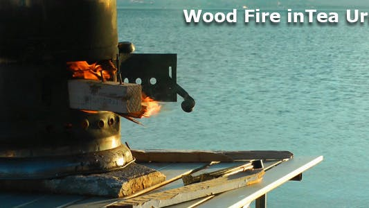 Thumbnail for Wood Fire In Tea Urn