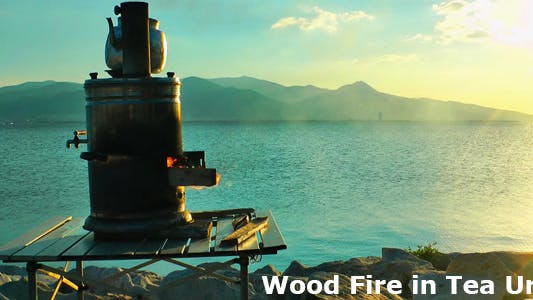 Thumbnail for Wood Fire In Tea Urn 2