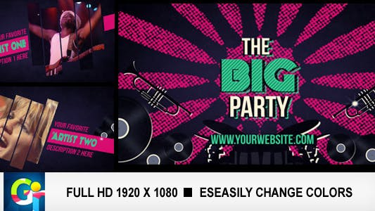 Thumbnail for The Big Party Promo