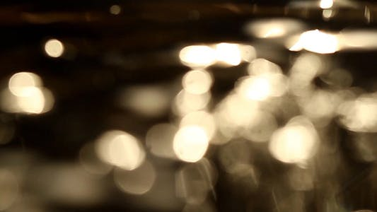Thumbnail for Golden Surface Bokeh - HD