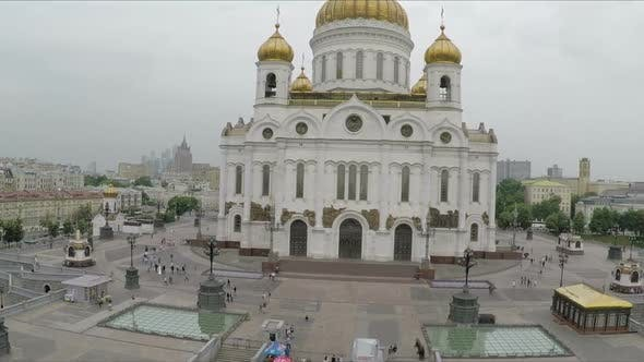 Thumbnail for The Cathedral of Christ the Saviour, Aerial View