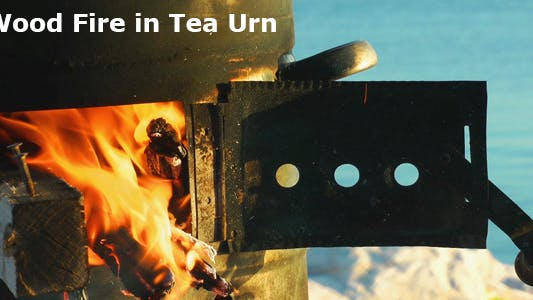 Thumbnail for Wood Fire In Tea Urn 3