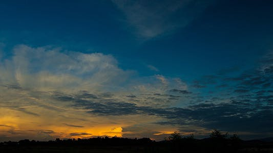 Thumbnail for Morning Clouds Time Lapse - Full HD
