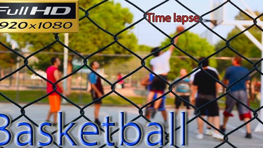 Thumbnail for Basketball Time Lapse - Full HD
