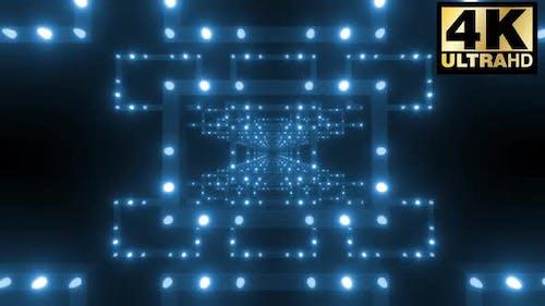 5 bunte geometrische Lichttunnel-Pack