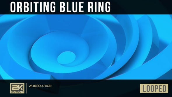 Thumbnail for Orbiting Blue Rings