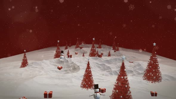 Thumbnail for Christmas Tree Background