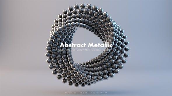Thumbnail for Abstract Metallic 32