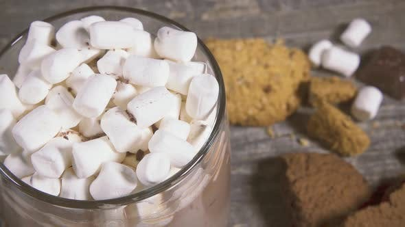 Thumbnail for Marshmallow in a Mug with a Drink Sprinkle with Chocolate