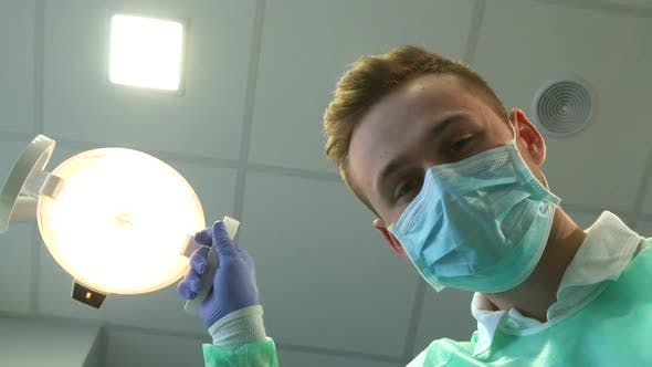 Thumbnail for Dentist Customizes the Light