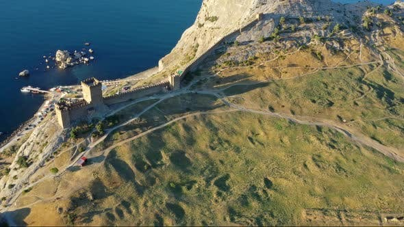 Thumbnail for Ancient Genoese Fortress in Sudak Crimea
