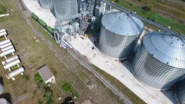 Thumbnail for Steel Grain Silos