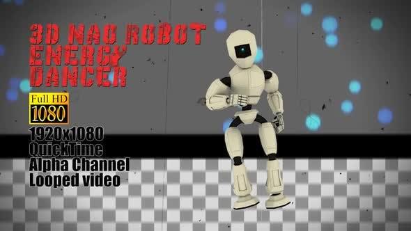Thumbnail for Energy Alpha Funny Robot Motion Dancing