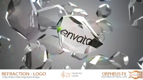 Refraction Logo Reveal