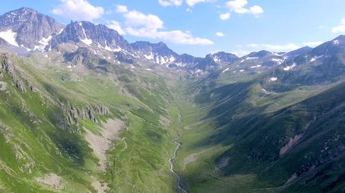 Glacial Valley Topography