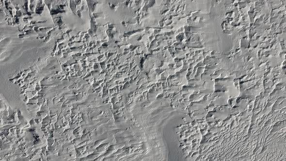 Cover Image for Windy Patterns on the Frozen Snow Surface