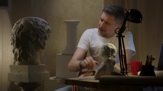 Thumbnail for Artist Talking To Sculpture