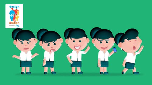 D&M Character Kit Tiny: Executive Girl