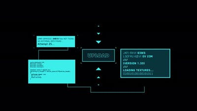 Cyber Crime Computer Hacker Screen