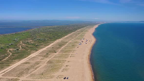 Thumbnail for Camping on Sand Beach, Black Sea
