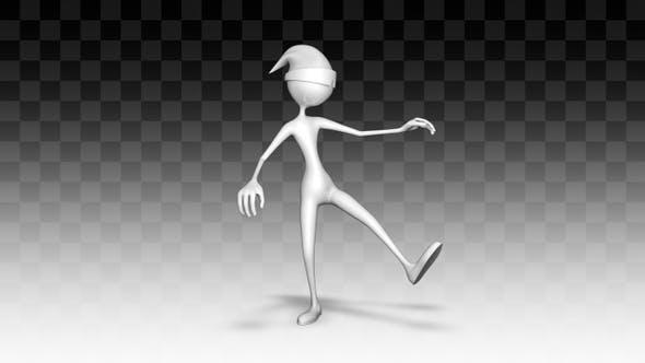 3d Character Man Dance