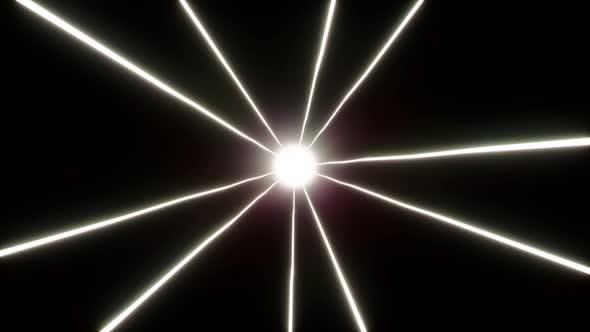 4K Shining Light Beam Loop 01