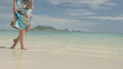Walking In The Ocean