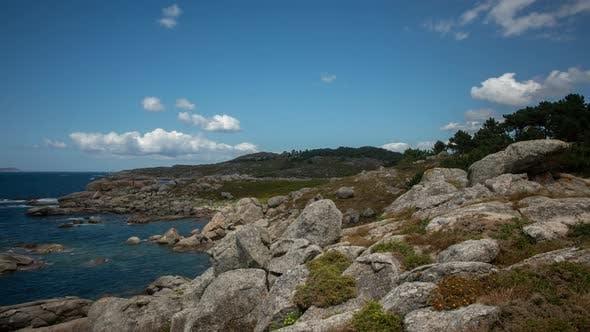 Playa Lagos In Spain Timelapse