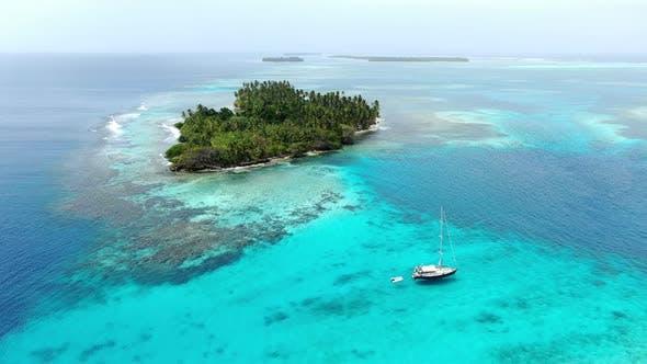Thumbnail for Caribbean Unspoiled Virgin Island Beach