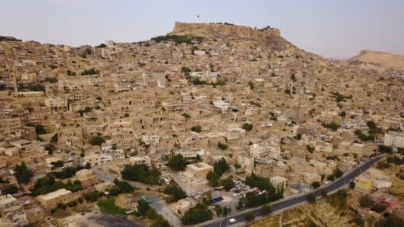Thumbnail for Unique Settlement Old Mardin Rock Houses, Anatolia, Turkey, Middle East