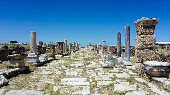 Die antike Stadt Laodicea auf dem Lykus