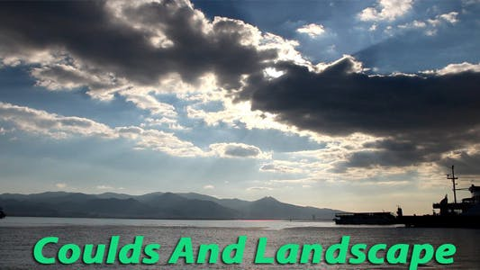 Thumbnail for Clouds And Landscape Timelapse