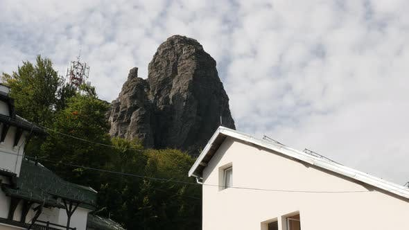 Thumbnail for Stara planina mountain cliffs 4K 2160p 30fps UltraHD footage - Highest point near  Babin Zub in East