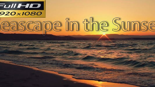 Thumbnail for Seascape In The Sunset FULL HD