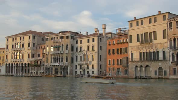 Thumbnail for Boat navigating on Grand Canal