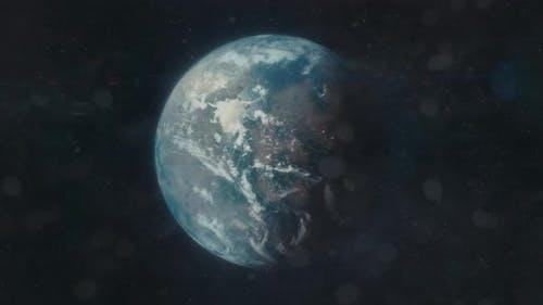 Male Eye Zoom to Exoplanet