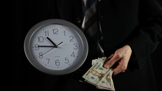 Thumbnail for Time is Money (black)