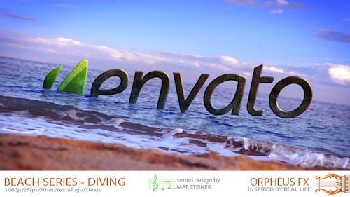 Beach Series - Logo Diving