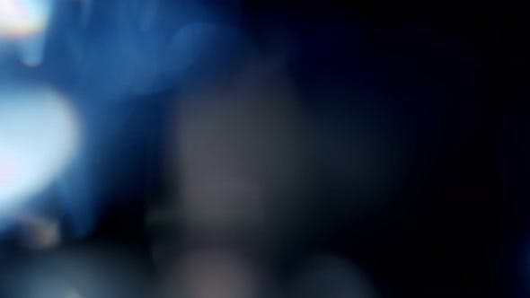Thumbnail for Multicolored Light Leaks Footage on Black Background Lens Flare Leak Burst Overlays Transitions