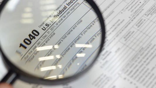 Individual Tax Forms Under Magnifying Glass