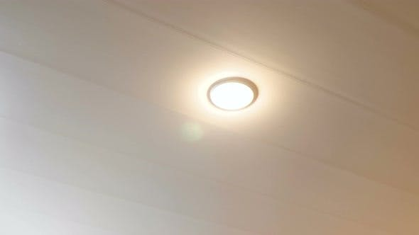 The Inclusion of Energy-saving Lamps on the Ceiling in the Room