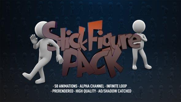 Stick Figure Pack - 50 Pack