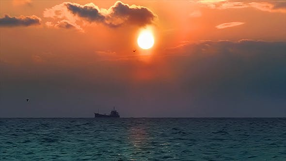 Thumbnail for Sunset Ship